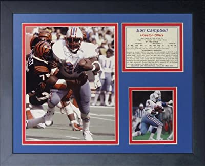 "Legends Never Die ""Earl Campbell"" Framed Photo Collage, 11 x 14-Inch"