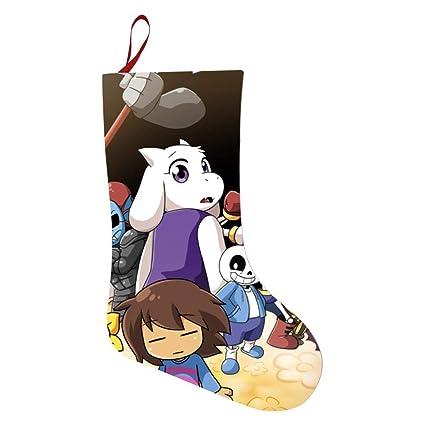 Undertale Christmas.Amazon Com Keith Wright Christmas Decorative Socks A