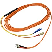 Cables To Go 27003 Mode-Conditioning SC/ST Fiber Patch Cable (5 Meters, Orange)