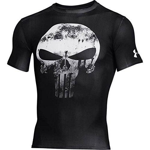Under Armour Alter Ego Comp Punisher team-blk//WHT Herren Kompressionsshirt M schwarz