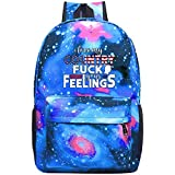 Trump 2020 Fuck Your Feelings Backpacks, GCASST Galaxy School Bags for Teens Girls Boys Kids, Laptop Backpack, Unisex Casual Bag