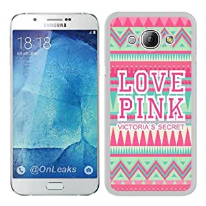 Best Buy Love Pink VS White Popular Custom Samsung Galaxy A8 Case