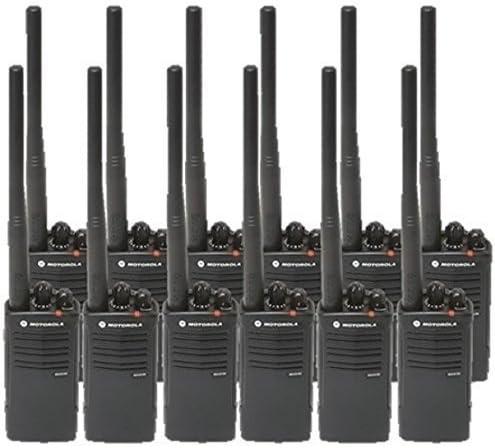 12 Pack of Motorola RDV5100 Two Way Radio Walkie Talkies