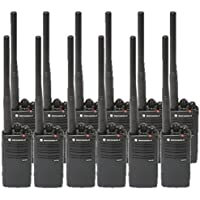 12 Pack of Motorola RDV5100 Two way Radio Walkie Talkies