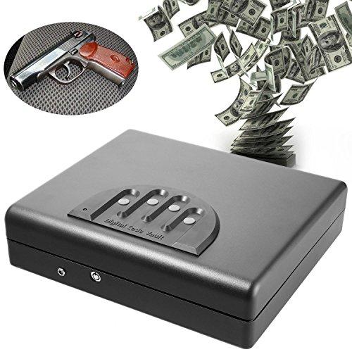 15. Etuoji Handgun Fingerprint Portable Pistol Lock Vault