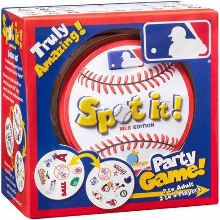 (Spot-It MLB Edition Baseball Party Card)