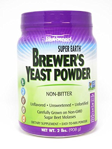 Bluebonnet Nutrition Super Earth Brewer s Yeast Powder, 2 pound