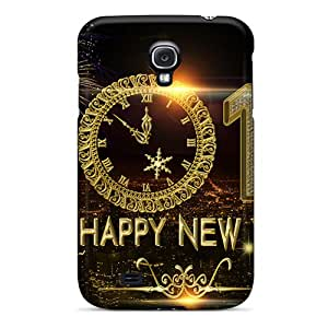 Hot Tpu Cover Case For Galaxy/ S4 Case Cover Skin - Happy New Year 2014 N01