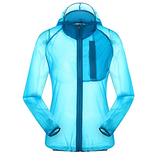 Women's Outdoor Anti UVA UPF 30+ Quick-dry Thin Windbreaker