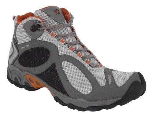 TrekSta Men's Evolution Mid GTX Running Shoes,Gray/Copper,10.5 M US