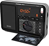 Eton Grundig Edition Traveler Longwave/Shortwave Radio with Audio Tuning Storage