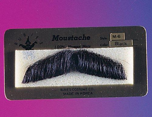 Gent Costume Mustache Human Hair Mustache 2011