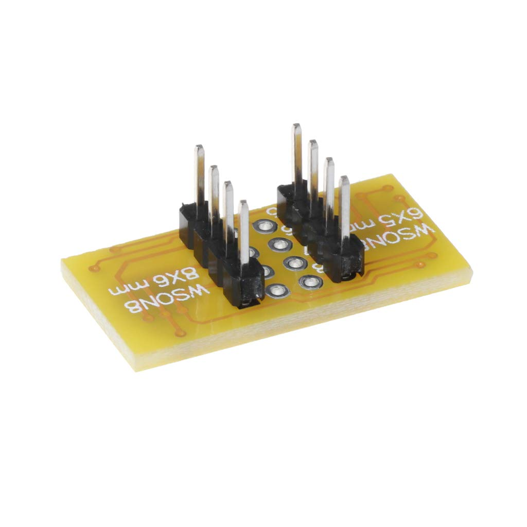 DFN8 to DIP8 /& WSON8 Yintiod 1pc 2 WSON8 to DIP8 Programmer Adapter Board QFN8 MLF8 to DIP8 Socket