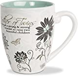 Pavilion - Mother of Twins - 20 oz Ceramic Coffee Cup Mug