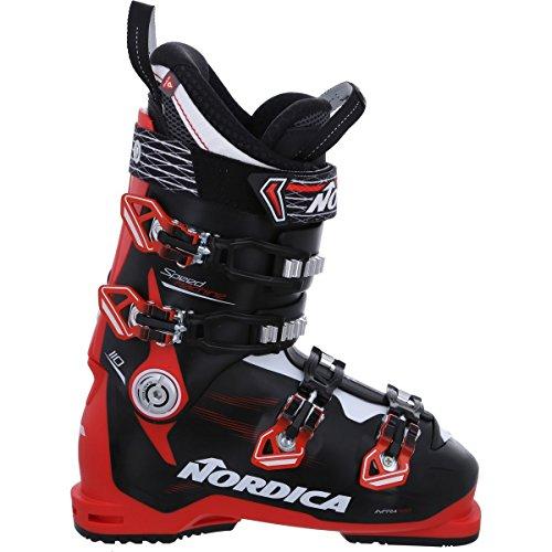 Nordica Speedmachine 110 Ski Boot - Men's Black/Red, 27.5 (Ski Nordica Mens)