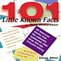 101 Little Known Facts Radio/TV Program by Chaz Allen Narrated by Chaz Allen
