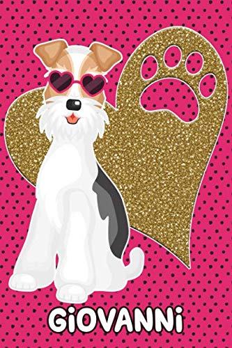 Foxy Life Giovanni: College Ruled   Composition Book   Diary   Lined ()