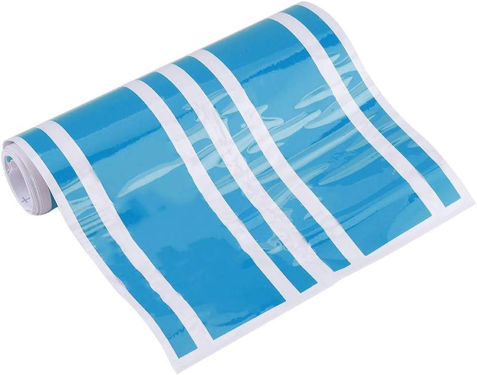 Blu cofano motore striscia motore adesivo in PVC adesivo decalcomania decorazione Adesivo per auto