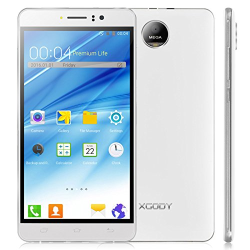 Xgody Y12 Smartphone Touchscreen White product image
