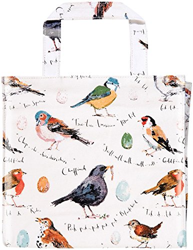 Weaver Tote - Ulster Weavers Madeleine Floyd Birdsong Decorative PVC Bag, Small