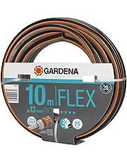 """GARDENA Comfort FLEX slang 13 mm (1/2"""") 10 m: Vormvaste, flexibele tuinslang met Power Grip profiel, hoogwaardige spiraalweving, 25 bar barstdruk, zonder Original GARDENA System onderdelen (18030-20)"""
