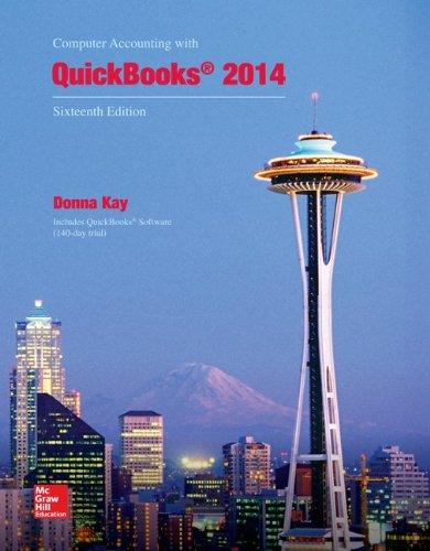 Computer Acct.W/Quickbooks 2014 W/2 Cds