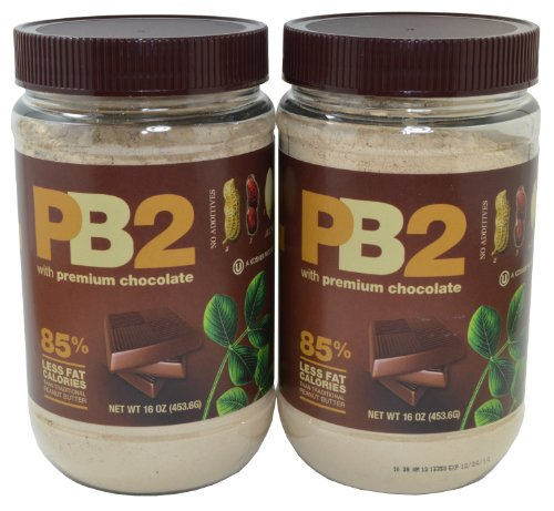 PB2 Bell Plantation Chocolate Powdered Peanut Butter, 1 Pound (2 Pack Chocolate)