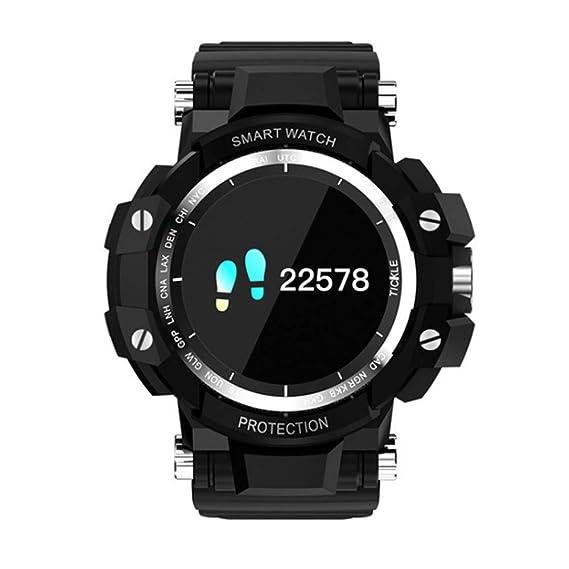HUIGE SmartWatch, 0.95 Pulgadas de Pantalla OLED, Android ...
