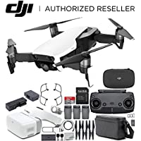 DJI Mavic Air Drone Quadcopter FLY MORE COMBO (Arctic White) + DJI Goggles FPV Headset VR FPV POV Experience Bundle