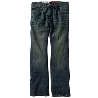 d3b0c9c37b Urban Pipeline Relaxed Bootcut Jeans at Amazon Men's Clothing store: