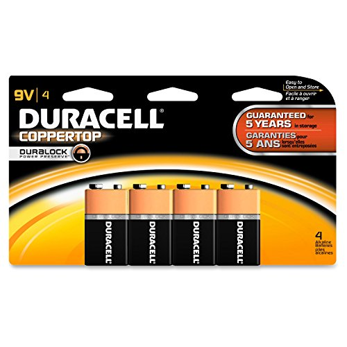 Procter & Gamble DURMN16RT4Z Duracell Coppertop Alkaline General Purpose (Alkaline General Purpose Battery)
