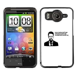 TopCaseStore / la caja del caucho duro de la cubierta de protección de la piel - Buy Thing We Need Money Have Quote - HTC G10