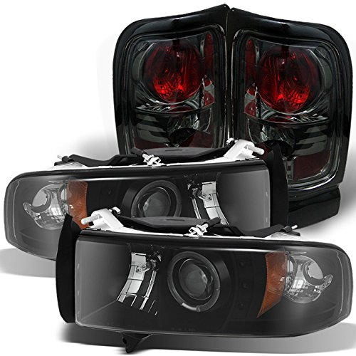 99 dodge ram 1500 head lights - 2