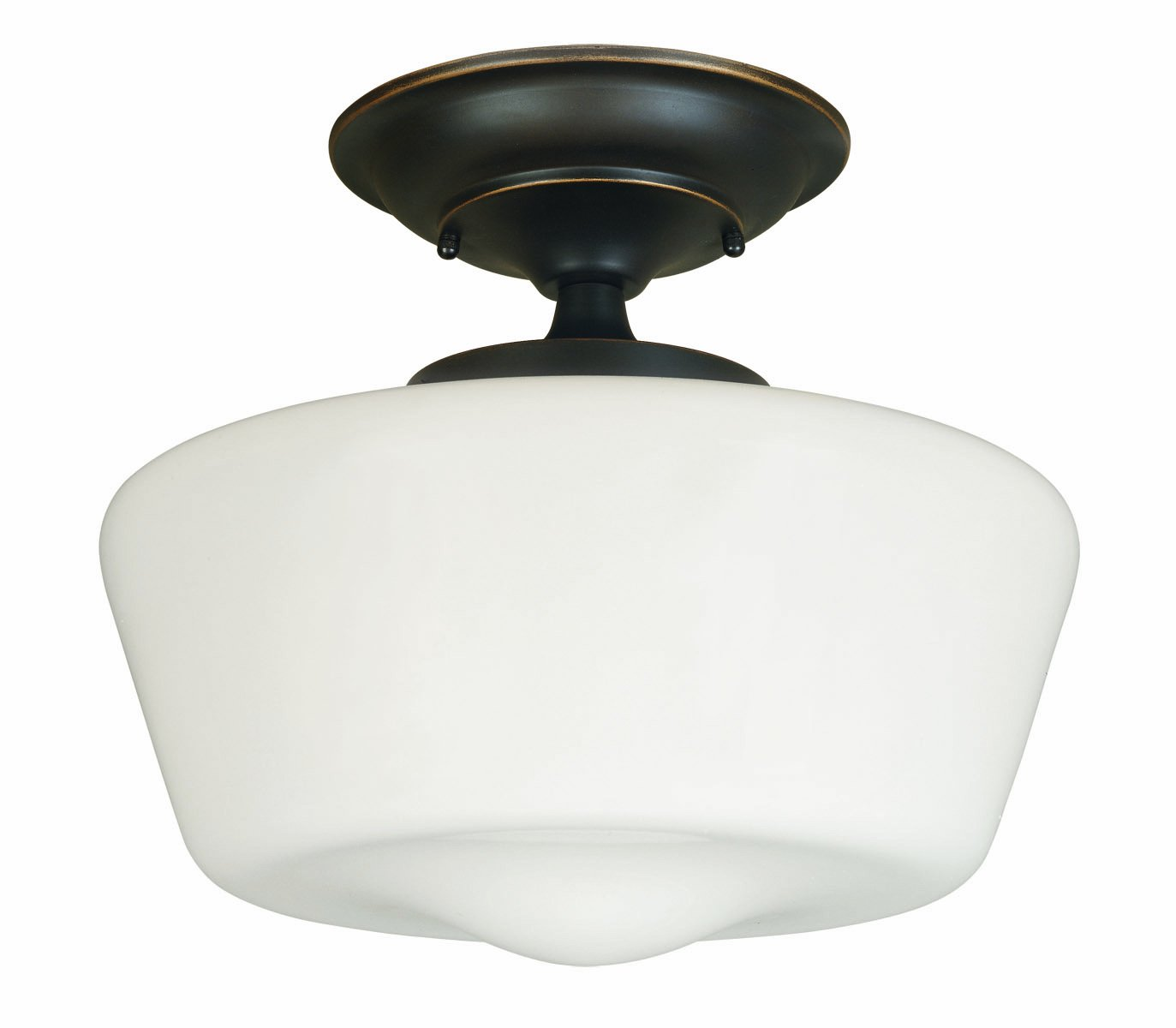 Flush Mount Kitchen Ceiling Lights World Imports Lighting 9007 88 Luray 1 Light Semi Flush Light
