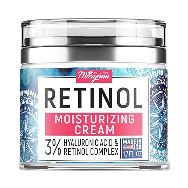 anti-aging retinol moisturizer cream