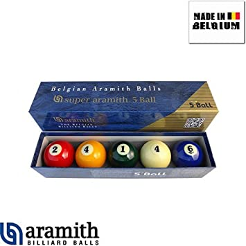 Aramith – Bolas de Billar, A142, Multicolor: Amazon.es: Juguetes y ...