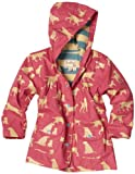 Hatley Little Girls'  Pink Labs Children Rain Coat
