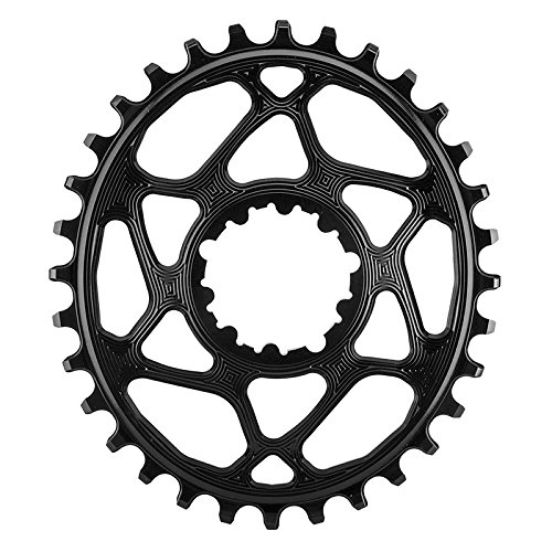 ABSOLUTE BLACK SRAM Oval Boost148 Direct Mount Traction Chainring Black/3mm Offset, 32t