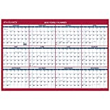 AT-A-GLANCE 2019 Yearly Wall Calendar, 36'' x 24'', XLarge, Vertical / Horizontal (PM21228)