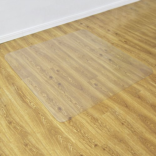 Goplus PVC Chair Mat for Hardwood Floor Clear Multi-Purpose Floor Protector for Office and Home Anti-Slip Floor Protective Mats (47'' x 47'') by Goplus (Image #4)