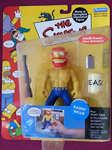 (Simpsons - World of Springfield Interactive Figure - Series 8 - Ragin' Willie w/custom accessories)