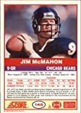 1989 Score #145 Jim McMahon Near Mint/Mint