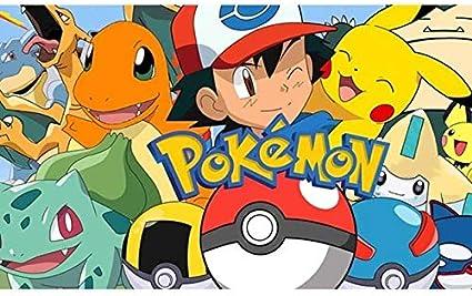 Diamante Pintura Pokemon Cuadrado Cuadrado Dibujos Animados Diamantes Puntos Cristal Anime Pikachu Pared Arte Diamante Bordado Regalo Ni/ños Pintura Juguete 60x80cm 8
