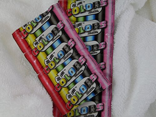 1000 Colored Condoms, Joe Lube Ultra Thin for Extra Pleasure by Joe Lube