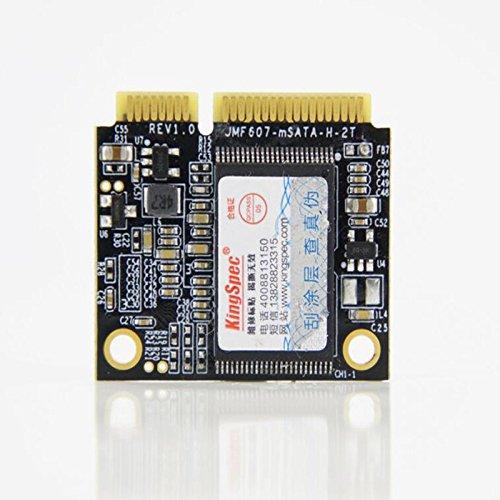 Kingspec MiniPCIe mSATA half size SSD 128GB 3*2.5cm for industrial motherboard