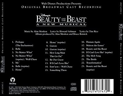 Ost Disney S Beauty And The Beast A New Musical Original Broadway Cast Recording Amazon Com Music