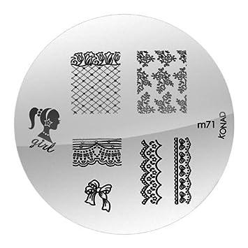 Amazon Konad Nail Art Konad Stamping Nail Art Image Plate M71