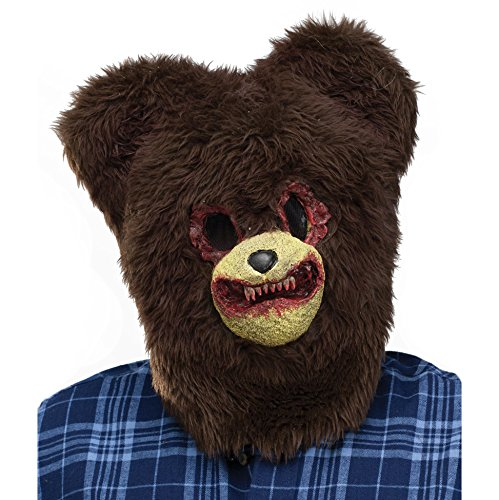 Scary Bear Mask - Scary Bear with Bloody Teeth Mask