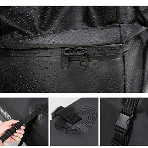 Car Roof Cargo Bag, [2018 Updated] Waterproof Rooftop Cargo Carrier (15 Cf) by Warm Bay (Image #2)
