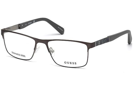 0f6e90d786 Guess GU1928 Eyeglass Frames - Matte Gun Metal Frame